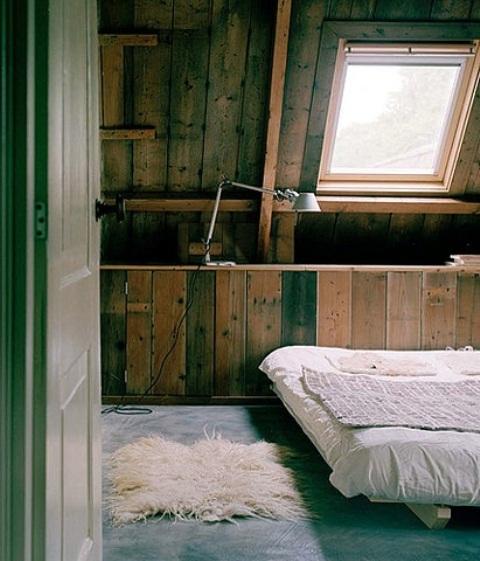 интерьер спальни в деревенском стиле фото 3