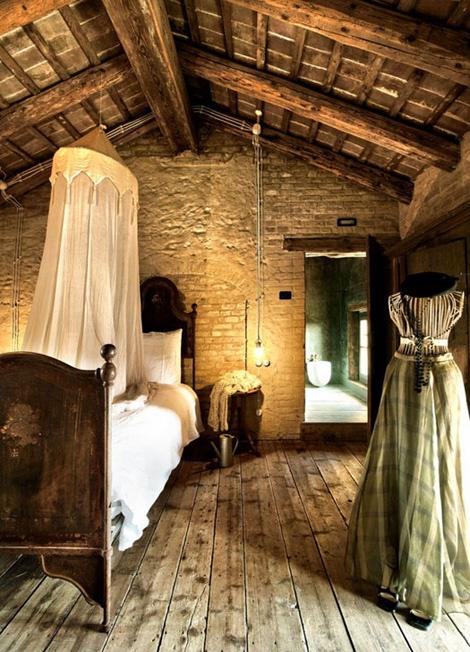 спальня в деревенском стиле фото 1