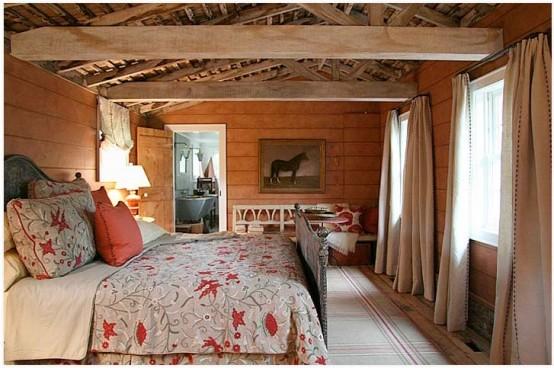 спальня в деревенском стиле фото 32