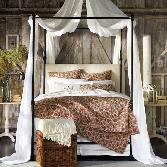 спальня в деревенском стиле фото 31