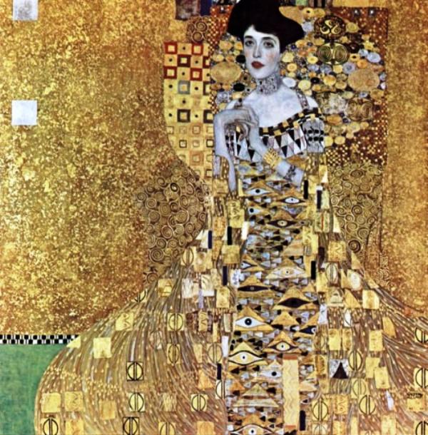 картины для интерьера «Портрет Адэль Блох-Бауэр», Густав Климт