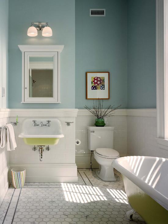 Фотографии ванных комнат 9