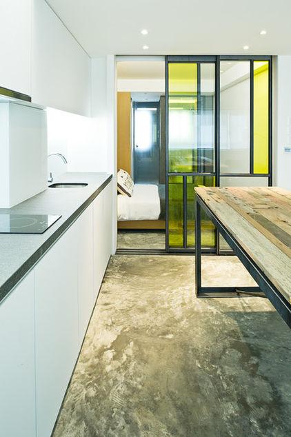 узкая квартира - кухня