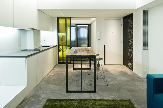 узкая квартира
