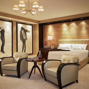 Красивая спальня – фото 339