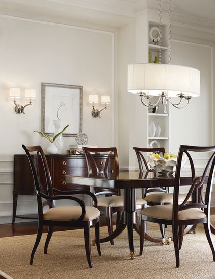 освещение столовой комнаты
