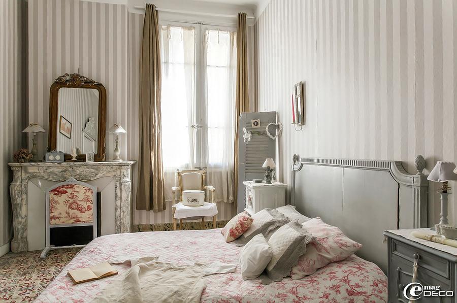 спальня во французской квартире