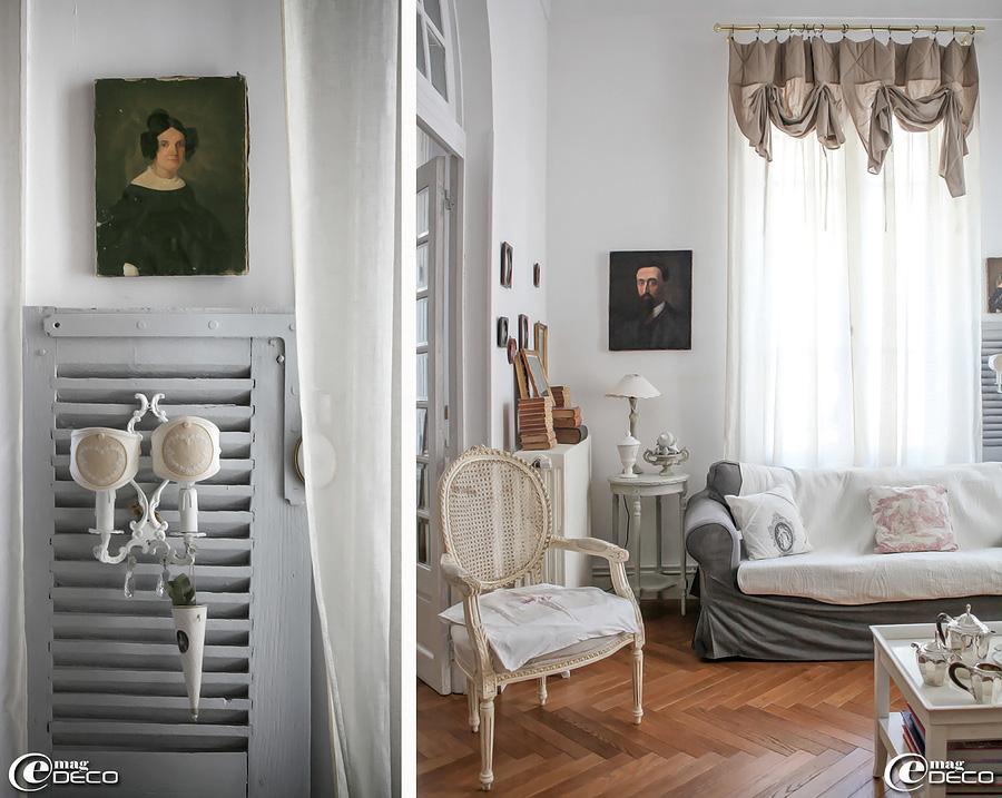 Французская квартира - гостиная