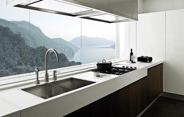 кухни с фотообоями