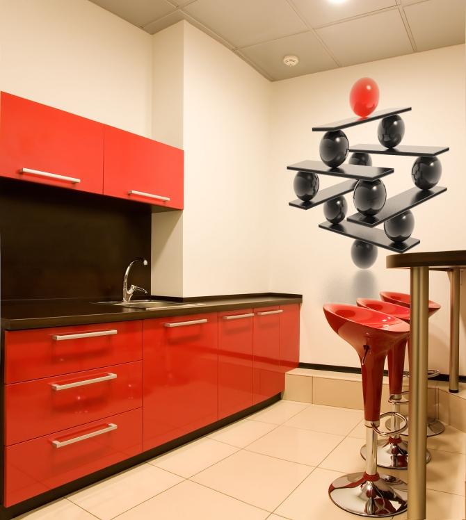 кухни с фотообоями 6
