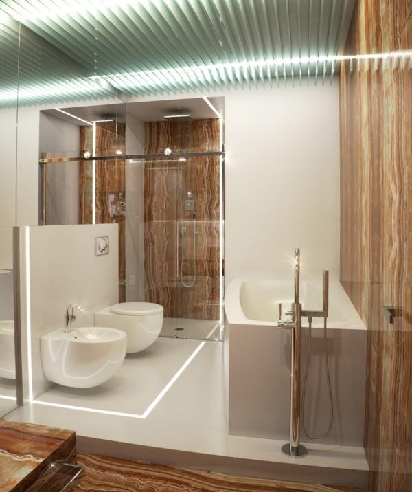 Квартира в белом - туалет