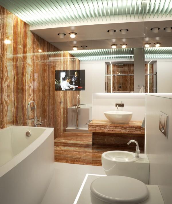 Квартира в белом - ванная