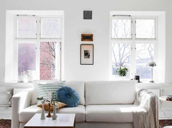 Квартира в скандинавском стиле фото 1