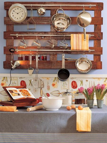 Подвесные рейлинги для кухни