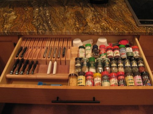 Ящики для дизайна кухни