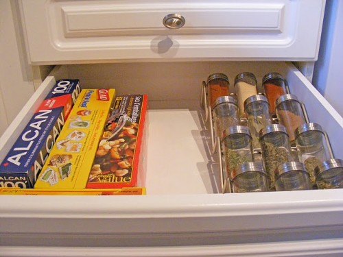 Ящики для кухни фото