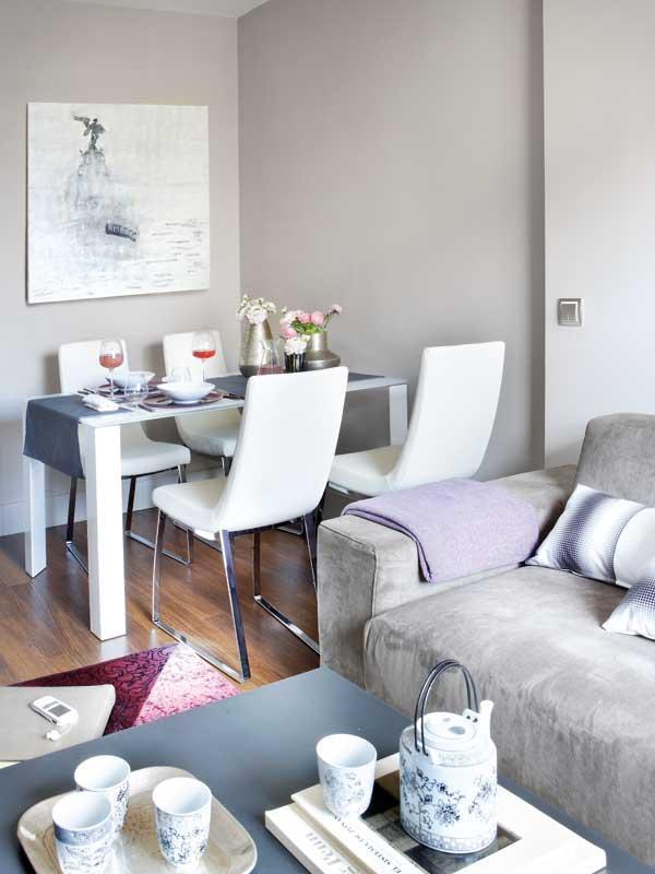 маленькая квартира - столовая зона