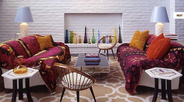 гостиная комната в арабском стиле