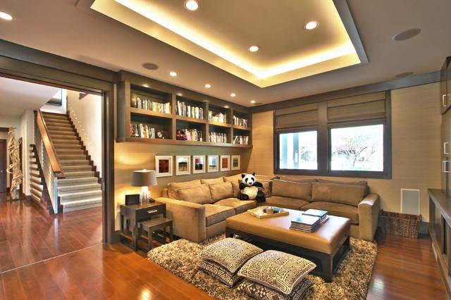 Подсветка комнаты светодиодными лампами