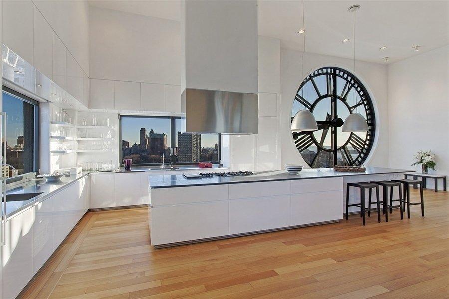 Современный интерьер - фото кухни