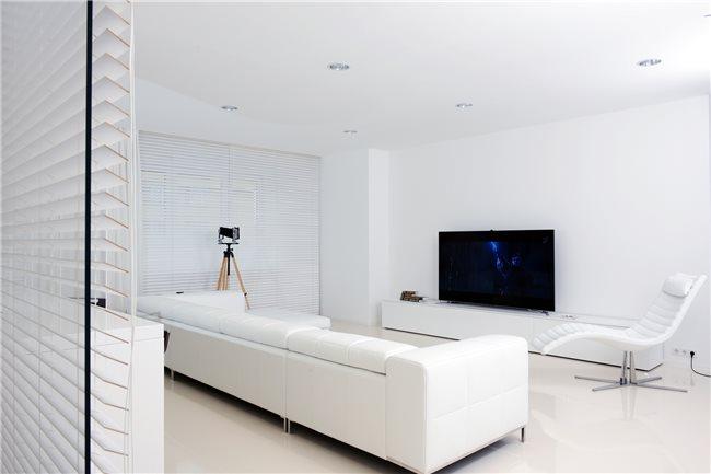 интерьер белой квартиры фото