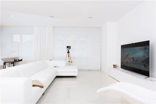 белая квартира фото гостиной