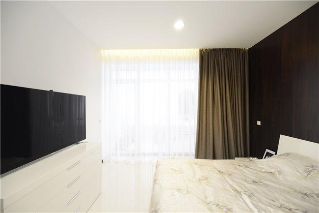 белая квартира фото спальни