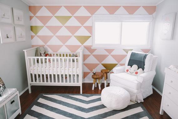 детская комната для новорожденного фото 1