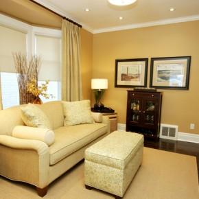 Дизайн гостиных комнат – фото 178