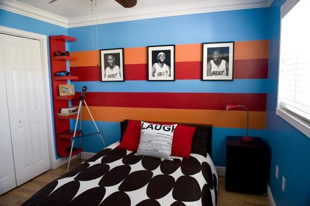 дизайн интерьера комнаты для мальчика подростка