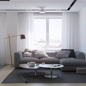 Дизайн гостиной — фото 137