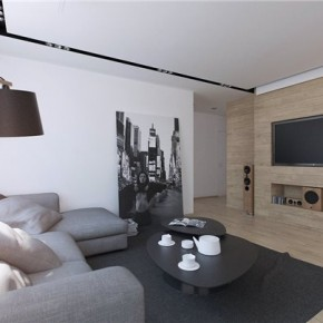 Дизайн гостиной – фото 136