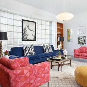 Дизайн гостиной – фото 164