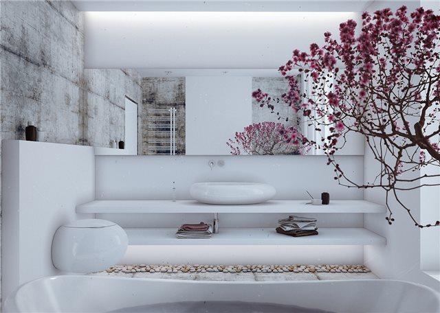 стильный дом - ванная комната фото