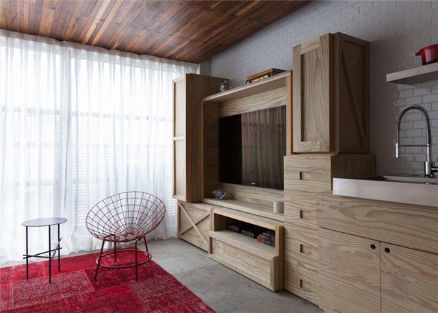 гостиная малогабаритной квартиры