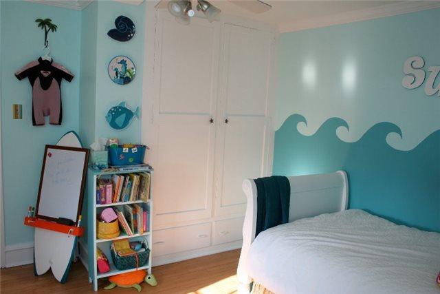 кровать в детской для девочки