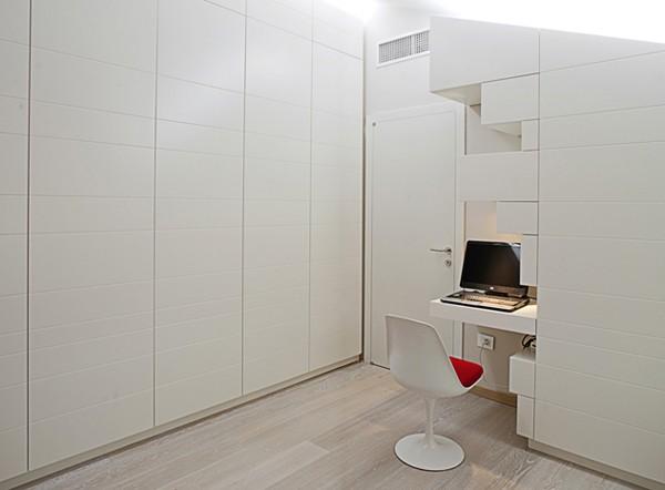 Светлая квартира - домашний офис
