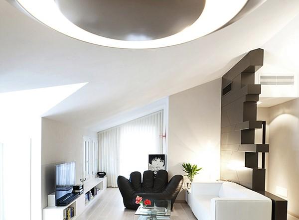 Светлая квартира - гостиная