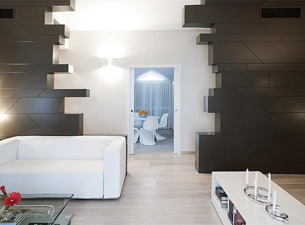 мебель в светлой квартире