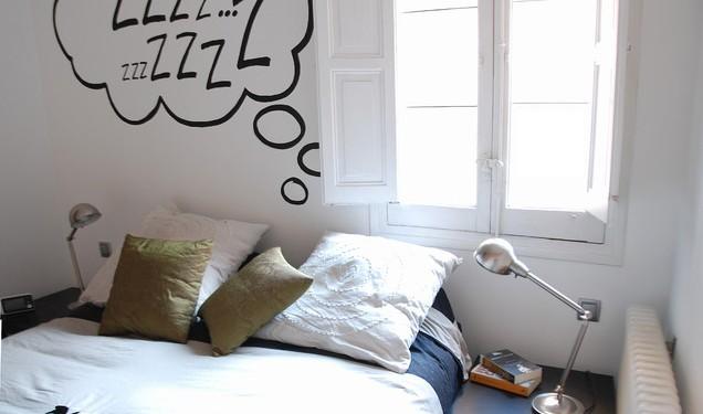 Цвет стен в спальне - несколько (15)