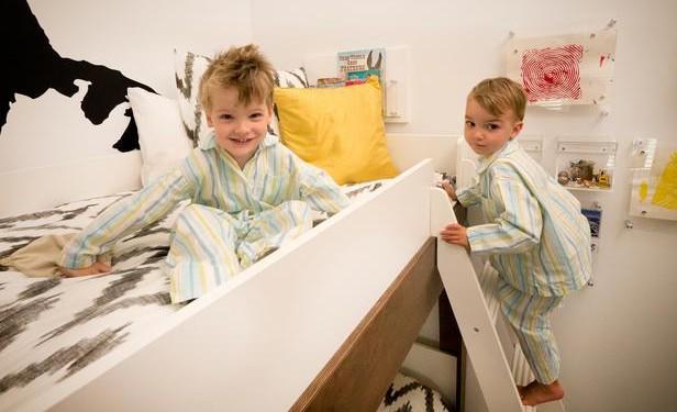 Детская комната для двоих детей (10)