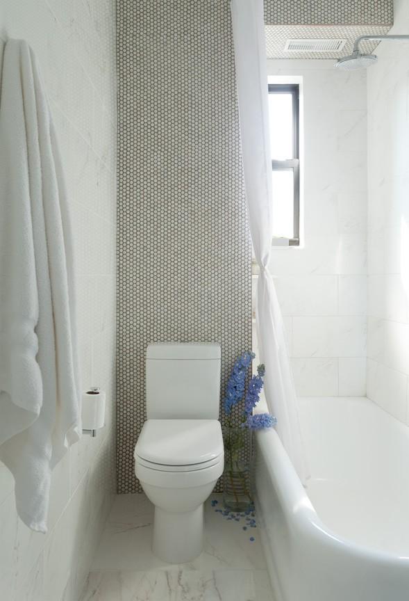 ванная в маленькой квартире