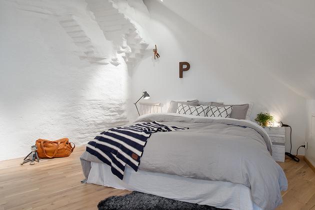 уютная спальня в квартире
