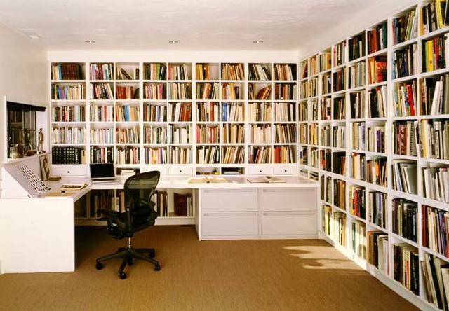 домашняя библиотека кабинет