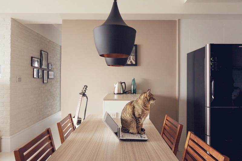 Дизайн двухкомнатной квартиры фото столовой