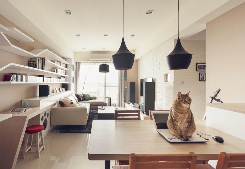 Дизайн двухкомнатной квартиры фото гостиной комнаты