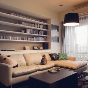 Дизайн гостиной фото 102