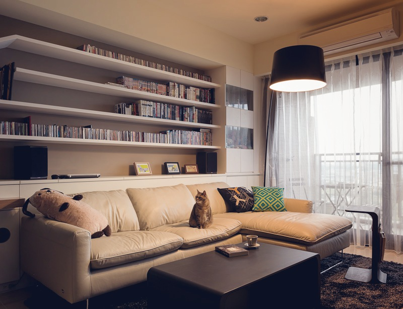 Дизайн двухкомнатной квартиры фото гостиной с диваном