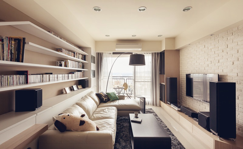 Дизайн двухкомнатной квартиры фото 5