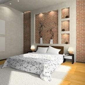 Оформление спальни фото 109